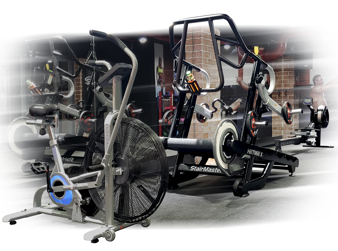Máquinas para gimnasio funcional y HIIT